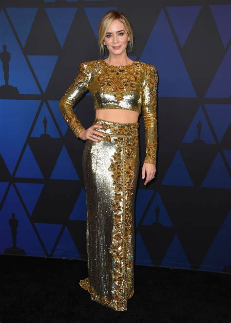People who liked emily blunt's feet, also liked EMILY BLUNT at Governors Awards in Hollywood 11/18/2018 - HawtCelebs