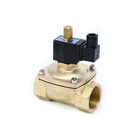 Solenoid Valve Way Normally Open For Air