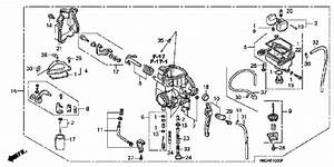 33 Honda Rancher 350 Carburetor Diagram