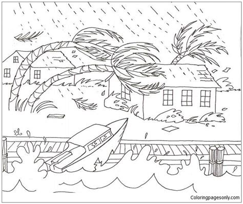 Coloring Weather by Severe Weather Coloring Sheets Coloring Pages