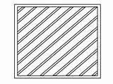 Square Coloring Pages Printable Lines Squares sketch template