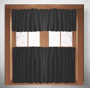 black kitchen curtains solid black kitchen cafe curtains