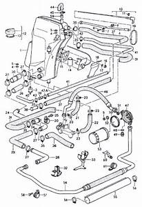 964 Rubber Oil Hose From Thermostat Short - Type911