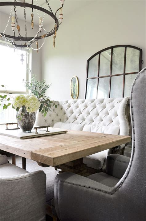 Settee Table by Best 25 Settee Dining Ideas On Formal Dinning