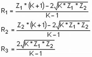 Dämpfung Berechnen : daempfungsberechnung t und pi glied pegeldaempfung spannungsdaempfung daempfung berechnen pad ~ Themetempest.com Abrechnung