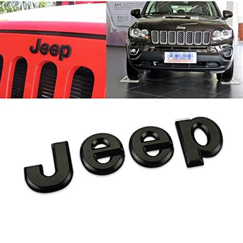 jeep front logo compare price to jeep liberty hood emblem