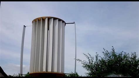 Вертикальные ветряки краткий обзор