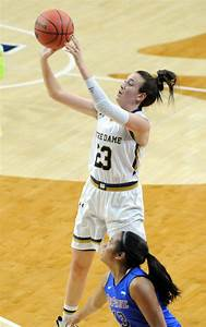 Michaela Mabrey scores 19, Notre Dame ousts DePaul with 79 ...