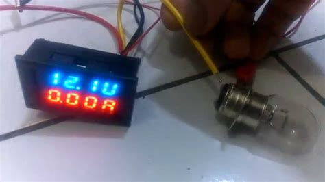dc    dual led digital voltmeter ammeter