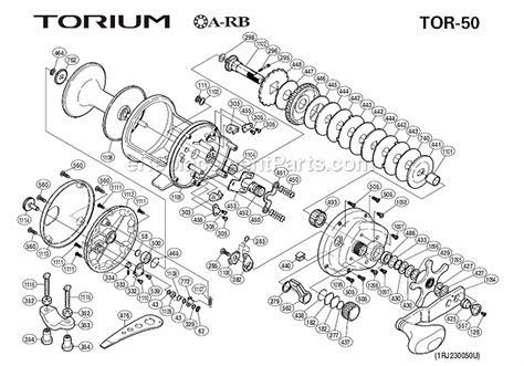 Shimano Reels Parts Diagram | Shimano Reel Parts Diagrams