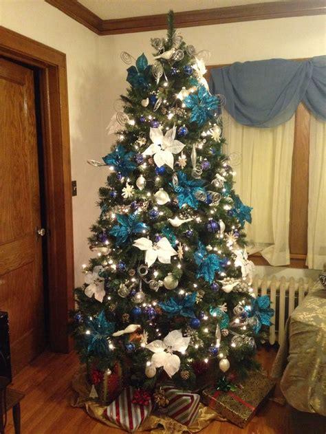 28 best blue theme christmas tree blue theme christmas