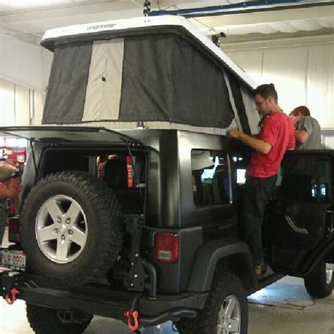 jeep pop up tent trailer 195 best images about tent trailer on pinterest more