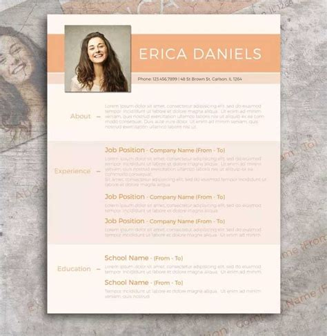 Modern Resume Template Free by 50 New And Trendy Free Cv Resume Design Templates For 2019