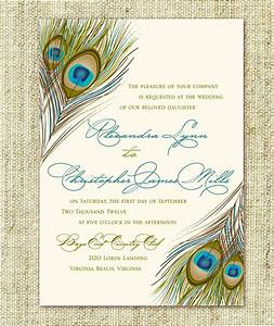 wedding invitation peacock feather script pocket by With peacock pocketfold wedding invitations