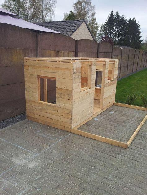 diy pallets playhouse play houses build  playhouse