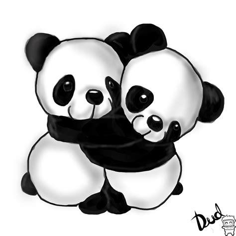 ositos pandas abrazados by jb2212 on deviantart