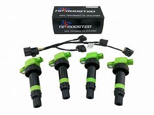 4 Pack Ignition Coils For 2010 2011 Kia Soul 1 6l 4 Cyl