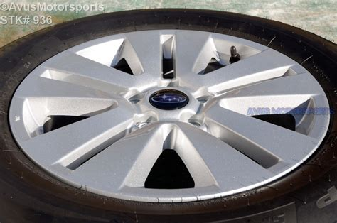 subaru outback rims 2016 subaru outback oem 17 quot factory wheels p225 65r17