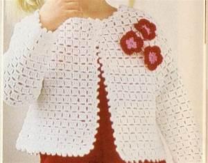 Como Tejer Suéter Para Niña a Crochet | Videos | Pinterest ...