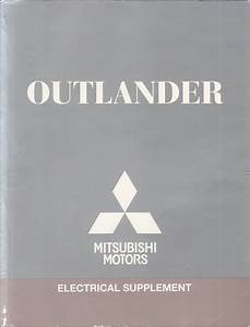 2011 Mitsubishi Outlander Wiring Diagram Manual Original