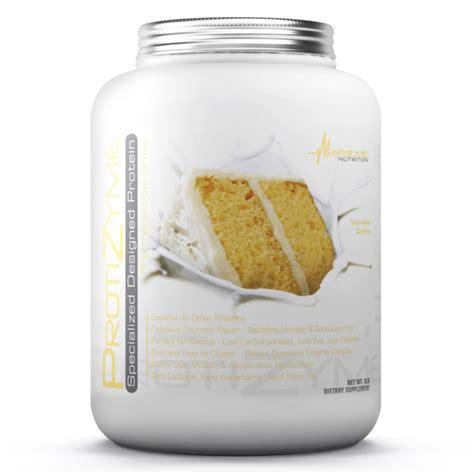 metabolic nutrition protizyme protein powder  lb