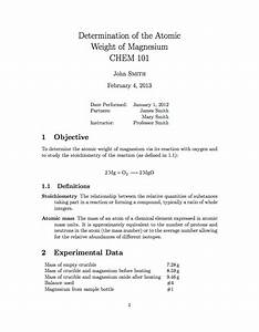 attractive latex report templates image collection With latex template technical report