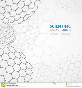 Science Background Template Print Stock Vector ...