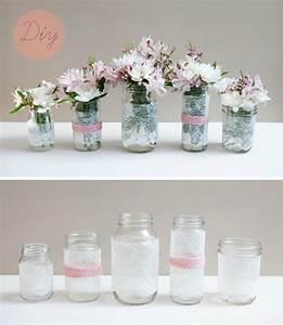1001 tutoriels et idees diy de deco avec dentelle With chambre bébé design avec bouquet fleur mariage