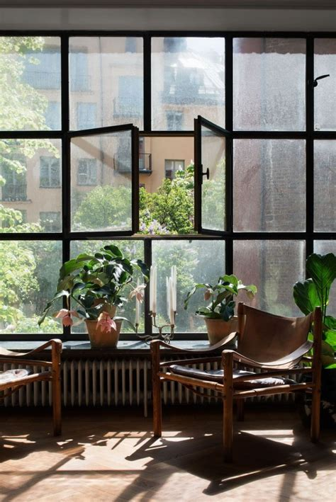 classic scandi apartment with industrial windows ems designblogg