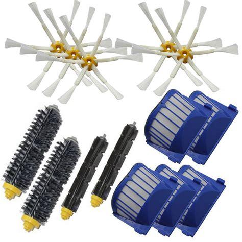 irobot roomba 650 vacuum beater brush aero vac filte 6 armed side brush for