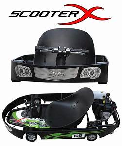 2012 Scooterx 49cc Powerkart Go Kart Wholesale
