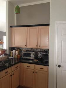 mauve schmauve reducing the pink of pickled oak cabinets With kitchen colors with white cabinets with noise reducing wall art