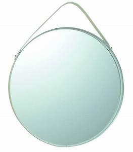 Miroir Rond Suspendu : miroirs suspendus ronds en m tal noir et corde en jute set de 3 ~ Teatrodelosmanantiales.com Idées de Décoration