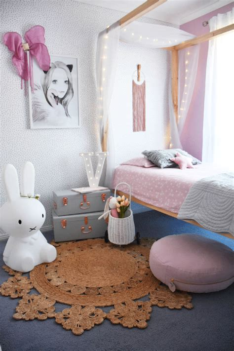 victorias pretty  girly bedroom  kids interiors