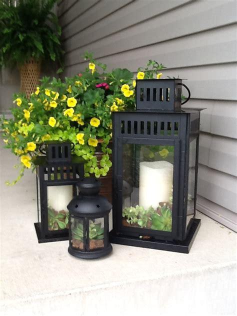 Lantern Porch Decorations Front Porch Decor Porch