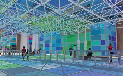interactive art installation  add color  playful