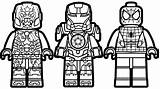 Lego Coloring Man Pages Ironman Captain America Printable Print Spiderman Colouring Vs Iron Getcolorings Getdrawings sketch template