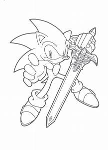 Sonic Unleashed Coloring Pages - Coloring Home