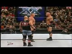 Goldberg Vs. Brock Lesnar Highlights - Wrestlemania 20 ...