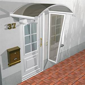 Glasvordach Mit Seitenteil : vordach solitude aus glas und alu in rundbogenform ~ Buech-reservation.com Haus und Dekorationen