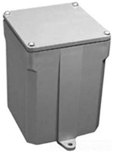 carlon floor box trim e989n junction box rigid nema 6p 8 x 8 x 4 in carlon