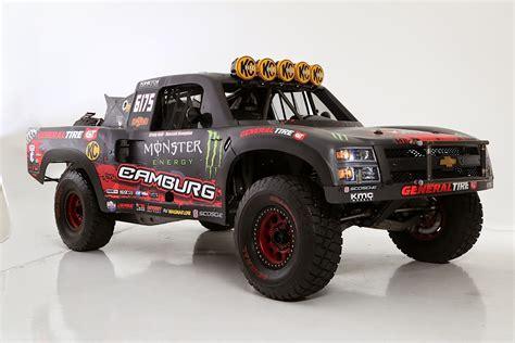 baja trophy truck art in motion inside camburg 39 s kinetik trophy truck off