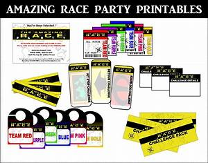 amazing race logo printable bing images With amazing race birthday party templates