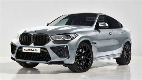 next gen bmw x6 m looks predictable in new rendering