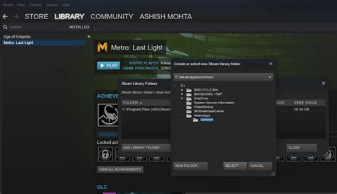 move single  multiple steam games