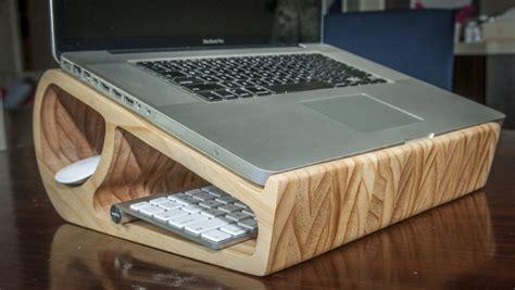wooden laptop stand   stylish  modern