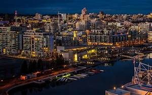 Canada, River, Marina, Vancouver, Night, Cities, Wallpapers, Hd, Desktop, And, Mobile, Backgrounds