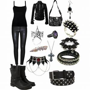 Gothic Outfit :) by emolover323, via Polyvore | My style ...