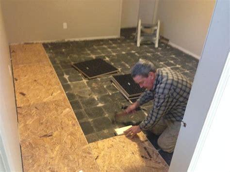 vapour barrier on basement concrete floor   Pro