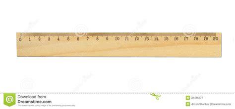 wood ruler stock image image of inch edge length